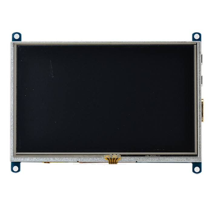 "Waveshare 5 ""LCD touch Tela resistivo Módulo w / interface HDMI"