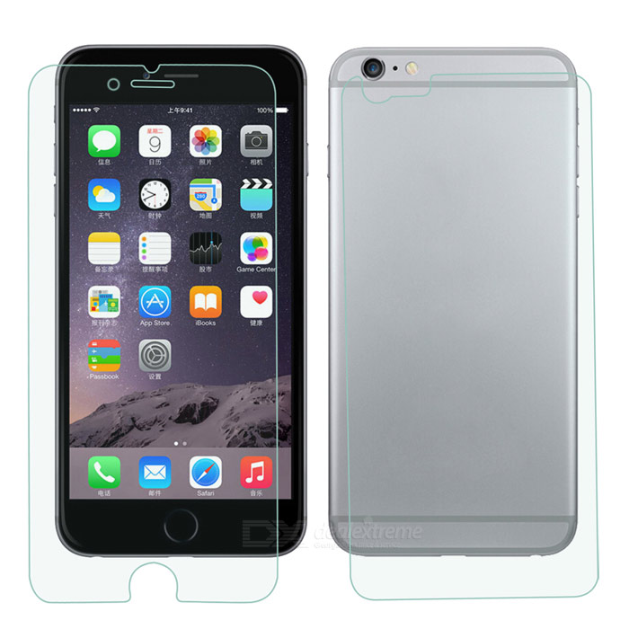 Clear Front + Back Protector for IPHONE 6 PLUS - Transparent (5PCS)