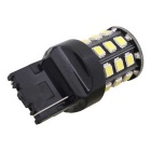 MZ T20 3.3W White LED Car Rear Fog Lamp w/ Constant Current - Black