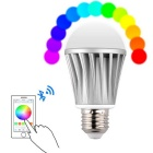 RST01BL E27 7W Wireless Bluetooth 4.0 Music Smart RGB 28-LED Light