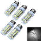 JIAWEN E27 8W LED Corn Light Cool White 800lm 48-5730 SMD (5PCS)