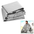 NatureHike Sun Blocking Outdoor Survival Emergency Rescue Foil Thermal Insulation Blanket - Silver