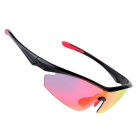 SENLAN outdoor sports riding PC goggles / óculos de sol - preto