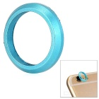 "Metal Camera Lens Protector Ring for IPHONE 6 4.7"" - Blue"