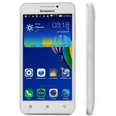 Lenovo A3600d Quad-Core Android 4G Phone w/ 512MB RAM, 4GB ROM - White