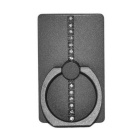 Mini Metal Ring Mount Holder Stand for Smartphone - Grey