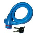 ROBESBON Anti-Theft Bicycle Wire Lock for Mountain Bike - Blue(1m)