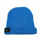 MZ013 Wireless Bluetooth V3.0 Music Smart Warm Knitted Hat Beanie Cap w/ Hands-free Calls - Blue