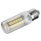 E27 8W LED Corn Lamps Warm White 3200K 600lm - White + Orange (5PCS)