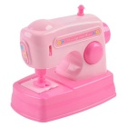 Cute Mini Small Home Appliances Series Electric Toy Sewing Machine - Pink (2 x AA)