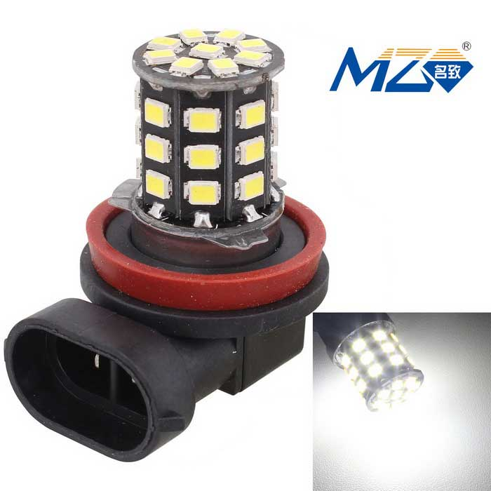MZ H11 6.6W White 33-LED 330lm Car Front Fog Lamp Constant Current