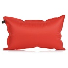 Outdoor Camping Travelling Auto Air Inflatable Cushion Pillow - Red
