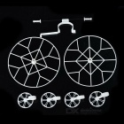 Propeller Blade Guard Bumper Protector Set for Cheerson CX-10 / CX-10A & JJRC JJ810 / JJ820 - White