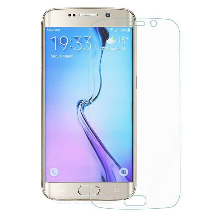 MINI SMILE Clear Full-Screen Film for Samsung S6 Edge - Transparent