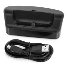 OTG Charging Dock + Data Charging Cable for LG AKA - Black