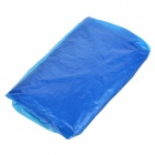 Portable Thickened Disposable Raincoat for Outdoor Sports - Blue