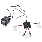 X4A-A01 3.7V 240mAh Battery + 1 to 4 Charger + TOL Adapter + Charger + Charging Cable