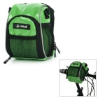 B-SOUL Water Resistant Bike Bicycle Handlebar Bag / Shoulder Bag - Green