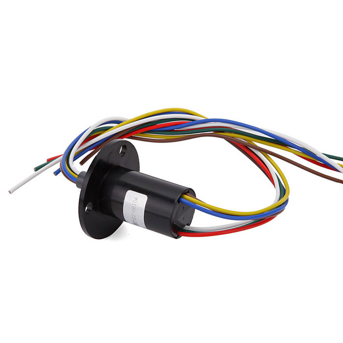 6-Wire 10A Per Circuit Electrical Slip Ring