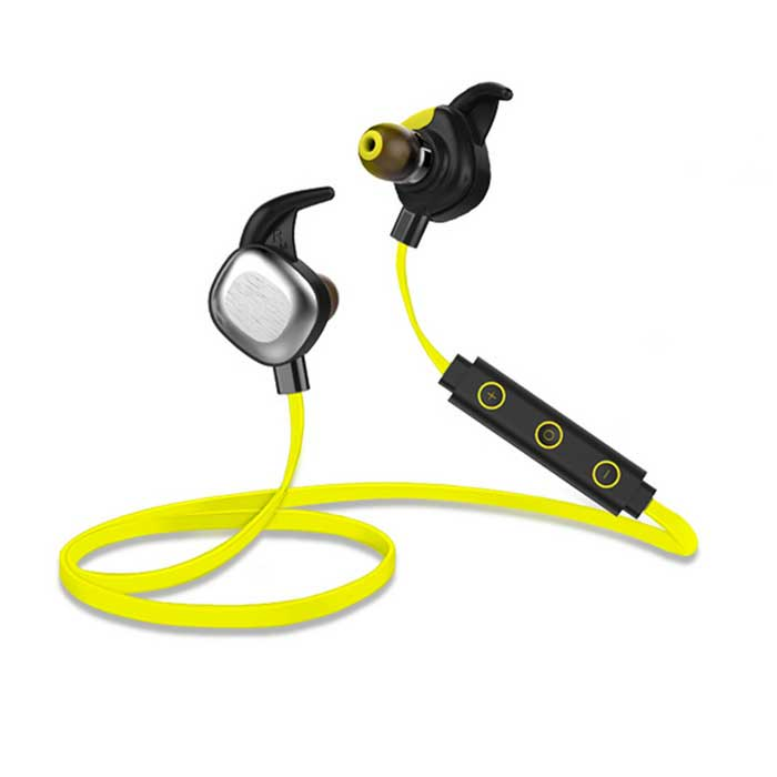 MORUL U5 PLUS Bluetooth 4.1 Sport Waterproof Headset w/ NFC- Yellow