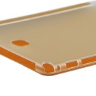 ENKAY 3-Fold PU + Plastic Case w/ Stand for Samsung T350 - Orange