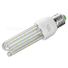E27 9W U-Shape LED Corn Lamps Warm White 750lm 3300K 48-SMD (3PCS)