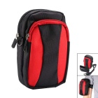 AKR Outdoor Sports Climbing Single Shoulder Bag / Arm Bag - Black + Red