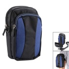 AKR Outdoor Sports Climbing Single Shoulder Bag / Arm Bag - Black + Blue