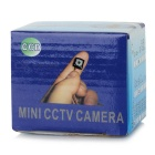 "1/3"" PH3299 5.0 MP câmera de CCTV Mini 1080TVL w / 8-IR-LED - preto (PAL)"