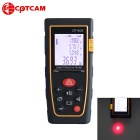 CPTCAM CP-40S Portable 40m Laser Rangefinder Distance Measuring Meter - Black + Yellow (2 x AAA)
