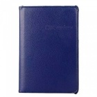"360 Degrees Rotatable PU Full Body Case w/ Stand for Samsung Galaxy Tab A 8.0"" / T350 - Deep Blue"