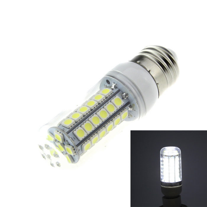 E27 15W LED Corn Lamp Cold White Light 1200lm SMD 5050 - White