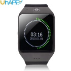 "UHAPPY UW1 1.55"" Waterproof Touch Screen GSM Watch Phone w/ NFC, FM, Bluetooth - Black"