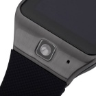 UHAPPY UW1 Touch Screen GSM Watch Phone w/ 128MB RAM, 128MB ROM -Black