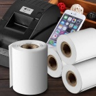 57*50mm Thermal Paper for 58HB-4/2 BT Thermal Printer - White (4-Roll)