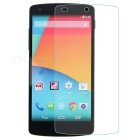 Clear Crack Resistant Tempered Glass Screen Protector for Google Nexus 5