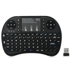 Rii RT-MWK08+ Mini 2.4G Wireless 92-Key Keyboard w/ Touchpad & Backlight & USB Receiver - Black