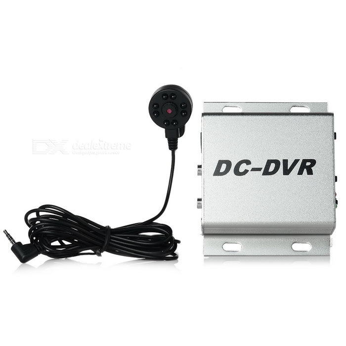 1-CH dc-DVR digital video recorder satt w / nattsyn - jern grå