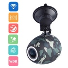 DDPai HD 1080P Wireless Car DVR Camcorder Wi-Fi Mini Recorder w/ Remote Capture Wireless Button