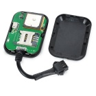 Motorcycle Anti-Theft 3LBS+AGPS/GPRS Tracker Tracking System - Black