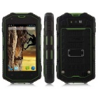 "IP68 Android 4.2 Dual-Core 3G Smartphone w/ 4.0"" Screen, Wi-Fi, GPS and ROM 4GB - Green"