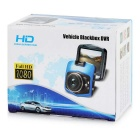 "2.3"" TFT 1080P 170' Wide-Angle Car DVR w/ LED & IR Night Vision - Blue"