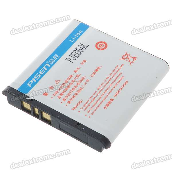 Pisen BP-6M Replacement 3.7V 1100mAh Li-ion Battery for Nokia 6280/N73/N93 + More