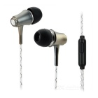 Glow-in-the-Dark Metal Earphones w/ Clip  for IPHONE / Samsung / Xiaomi / Tablet