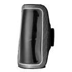 Mini SMILE Sports Armband w/ Velcro for Samsung S6/S6 EDGE - Black