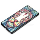 Fashion Lion Painted Back Case for IPHONE 6 PLUS - Black + Multicolor