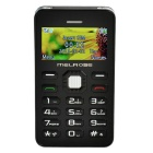 "MELROSE G1 1.77"" TFT LCD MTK61 GSM Bar Phone w/ Bluetooth, MP3, FM, 0.3MP Camera - Black"