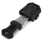 FURA Outdoor Sports Portable Survival Knife w/ Strap + Sawteeth