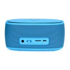 Wireless Bluetooth V3.0 Speaker w/ Hands-free, TF, 3.5mm - Blue