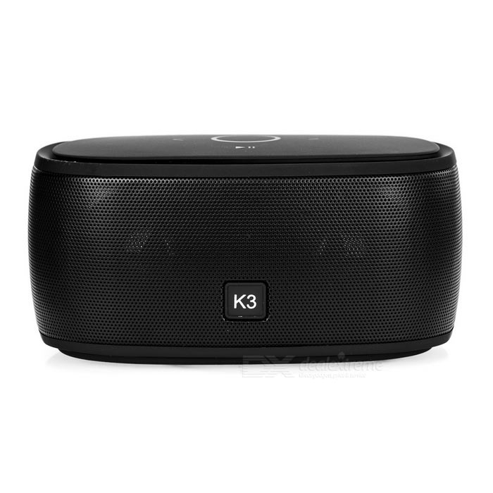 Wireless Bluetooth V3.0 Speaker w/ Hands-free, TF, 3.5mm - Black